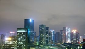 Central Business district, Shenzhen city, China , Stock Images