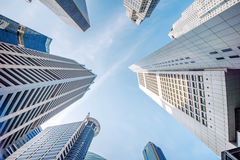 Central Business District. Stock Images