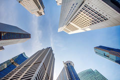 Central Business District. Royalty Free Stock Photography