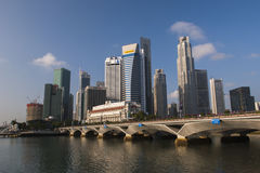 The Central Business District SINGAPORE Stock Photo