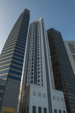 The Central Business District of Singapore Stock Photography