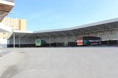 Central bussstation av Algeciras, Spanien Royaltyfri Bild