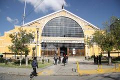 Central bussstation i La Paz, Bolivia Arkivfoto