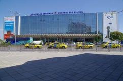 Central bussstation i Sofia, Bulgarien, Europa Royaltyfria Foton