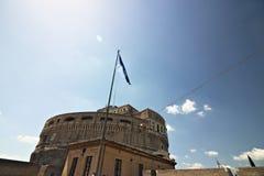 Central byggnad av Castel Sant 'Angelo fotografering för bildbyråer