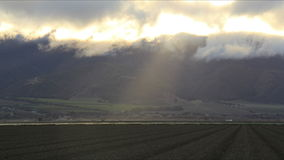 Central California Farmland Time-Lapse stock video