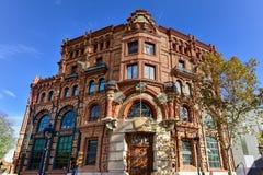 Central Catalana of Electricity - Barcelona Royalty Free Stock Photo