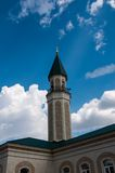 The central cathedral mosque of the city of Orenburg Royalty Free Stock Photo