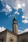 The central cathedral mosque of the city of Orenburg Royalty Free Stock Photos