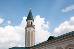 The central cathedral mosque of the city of Orenburg Stock Images
