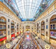 Central Children`s Store. Moscow, Russia. Moscow, Russia - June 23, 2015: Central Children`s Store on Lubyanka - object of a cultural heritage Russian Stock Photo