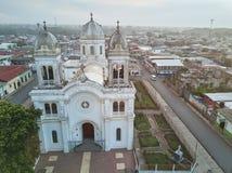 Central church in Diriamba Stock Photos