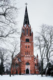 Central Church of Pori, Finland Royalty Free Stock Photo
