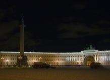 central city night square winter στοκ εικόνες με δικαίωμα ελεύθερης χρήσης