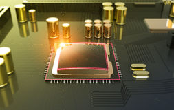 Central Computer Processor CPU concept Stock Images