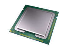 Central Computer Processor Royalty Free Stock Photo
