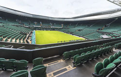 The central court at Wimbledon place Royalty Free Stock Photo