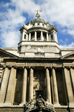 Central Criminal Court,  Old Bailey. The Central Criminal Court fondly known as The Old Bailey, which until 1902 was Newgate prison is the highest  court for Royalty Free Stock Photography