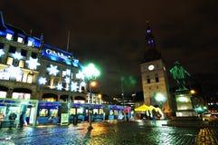 Central d'Oslo Photographie stock libre de droits