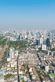 Central dawntown of Bangkok city with high building city skyline Royalty Free Stock Images