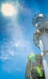 Central de energía de la biomasa imagen de archivo