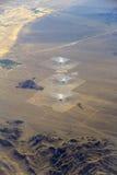 Central de energía termal solar de Ivanpah Foto de archivo