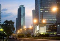 Central de Jakarta Imagem de Stock Royalty Free