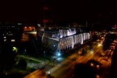 Central de la calefacción urbana en Turín Fotos de archivo libres de regalías