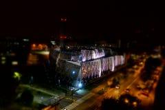 Central de la calefacción urbana en Turín Imagen de archivo libre de regalías
