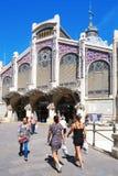 Central de Mercado en Valencia, España Imagenes de archivo