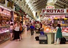 Central de Mercado en Valencia, España Fotos de archivo libres de regalías