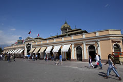 Central de Mercado, Santiago Foto de Stock