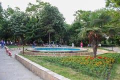 Central del i Sozopol, Bulgarien Fotografering för Bildbyråer