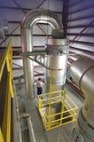 Central depuradora Foto de archivo libre de regalías