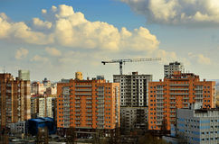 Central district of Donetsk Stock Images