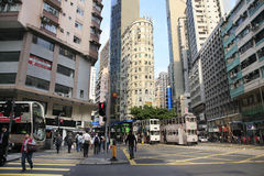Central District in HONG KONG Stock Images