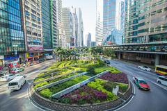 The central district landmark of Hong Kong ,China Stock Image