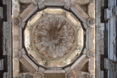 Central dome,  Jami Masjid (mosque), chapaner, Gujarat Stock Photo