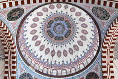 Central dome of Sehzade Mosque Royalty Free Stock Photography