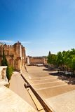Central downtown square in Avignon Royalty Free Stock Photo