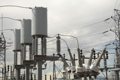 Central eléctrica 10 Imagens de Stock Royalty Free