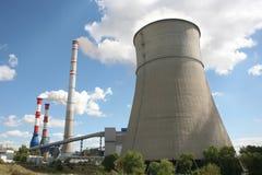 Central eléctrica Fotografía de archivo libre de regalías