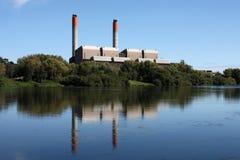 Central eléctrica imagem de stock
