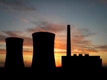 Central eléctrica Foto de archivo