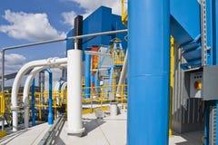 Central eléctrica fotografia de stock