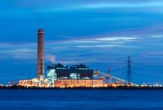 A central eléctrica Imagens de Stock