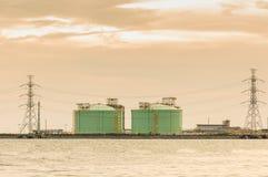A central eléctrica Imagens de Stock Royalty Free