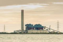 A central eléctrica Foto de Stock Royalty Free