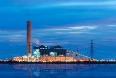 A central eléctrica Foto de Stock