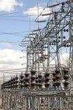 Central eléctrica 3 Imagen de archivo libre de regalías